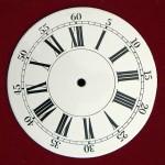 Antik óra számlapok készítése, gyártása